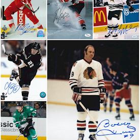 2016-17 Hit Parade Autographed Hockey 8x10 Photo Edition Series 2 (Full case)