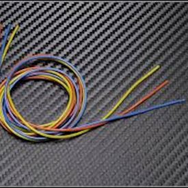 700122 PN Racing Mini-Z 22AWG Silicon Wire (Orange/Yellow/Blue @3ft)