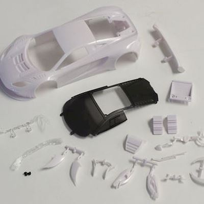 MZN163 MCLAREN 12C GT3 2013 WHITE BODY SET KYOSHO