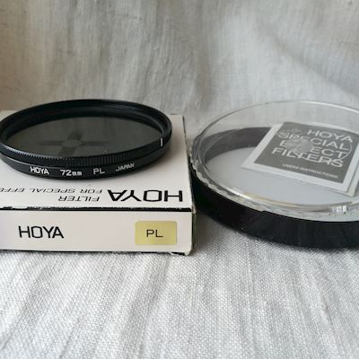 Filter Hoya pol 72mm