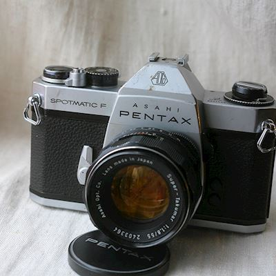 Pentax Spotmatic F 55mm f1.8 Super-Takumar