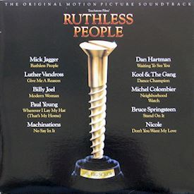 (LP) Various ‎– Ruthless People : The Original Motion Picture Soundtrack
