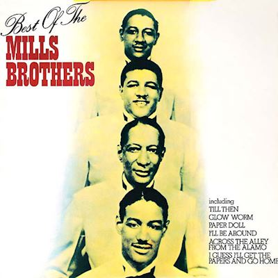 (LP) The Mills Brothers ‎– The Best Of The Mills Brothers