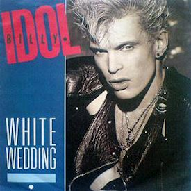 "(7"") Billy Idol ‎– White Wedding"