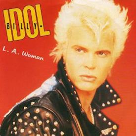 "(7"") Billy Idol ‎– L. A. Woman"