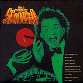 (LP) Various ‎– Scrooged - Original Motion Picture Soundtrack