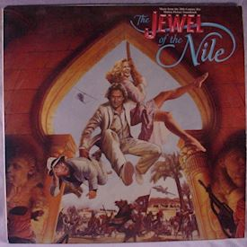 (LP) Various ‎– The Jewel Of The Nile: Music From The 20th Century Fox Motion Picture Soundtrack