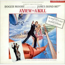 (LP) John Barry ‎– A View To A Kill (Original Motion Picture Soundtrack)
