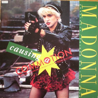 "(12"") Madonna ‎– Causing A Commotion"