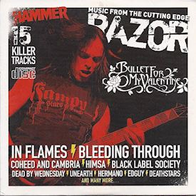 (CDS) Various ‎– Metal Hammer - Razor: Music From The Cutting Edge