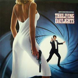 (LP) John Barry, Various ‎– The Living Daylights (Original Motion Picture Soundtrack)