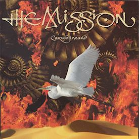 (LP) The Mission ‎– Carved In Sand
