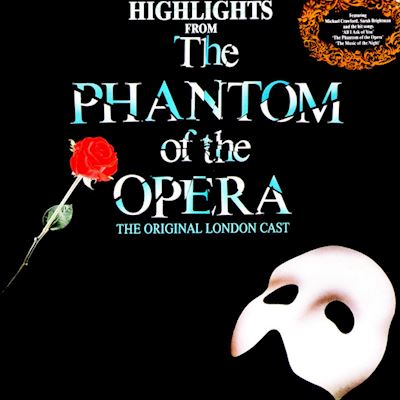 (LP) Andrew Lloyd Webber, The Original London Cast* ‎– Highlights From The Phantom Of The Opera