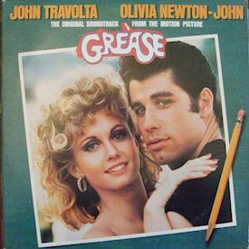 (LP) Various ‎– Grease (The Original Soundtrack From The Motion Picture)