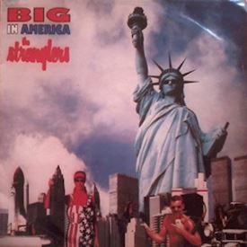 "(7"") The Stranglers ‎– Big In America"