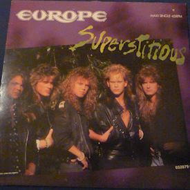 "(12"") Europe ‎– Superstitious"