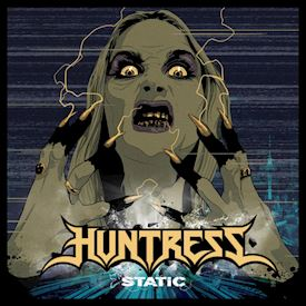 (LP) Huntress  ‎– Static