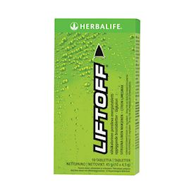 Lift Off® Citron-Lime Energidryck Lemon-Lime 10 brustabletter