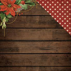 Letters To Santa, Poinsettia Garland