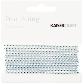 Pearl String, Silver
