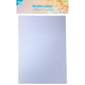 Doublesided adhesive craft sheets A5