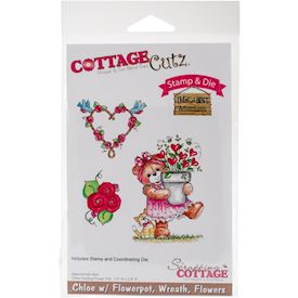 CottageCutz, Chloe With Flowerpot