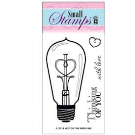 Smallstamp Lightbulb-Thinking Of You