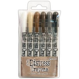Distress Crayon Set, Set #3