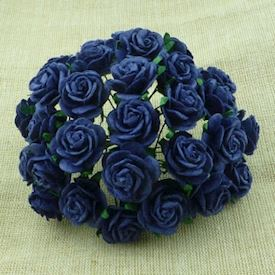 ROYAL BLUE 10st rosor 20mm