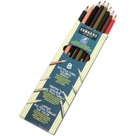 Multicultural Colored Pencils 8/Pkg