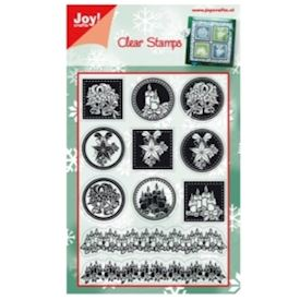Clear stamps - Christmas