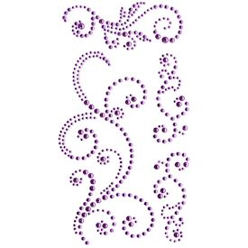 Jewel Swirls, Purple