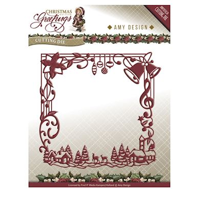 Christmas Greetings Frame