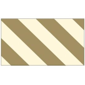 Gold Diagonal Stripes