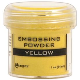 Embossing, Yellow