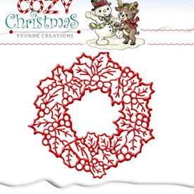 Cozy Christmas - Wreath