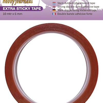 Extra Sticky Tape - 6 mm
