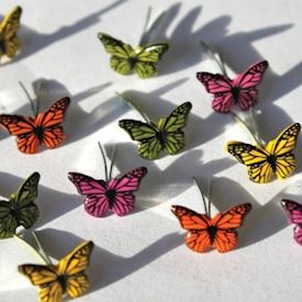 Mini Butterflies 7mm