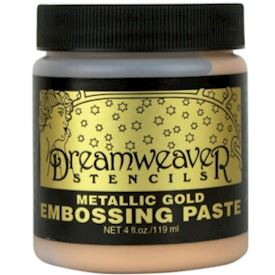 Embossing Paste Gold