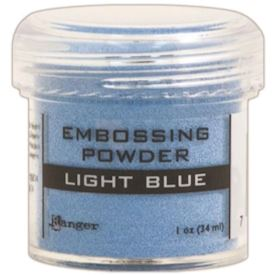 Embossing, Light Blue