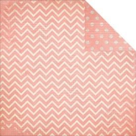 Dot Chevron, Coral
