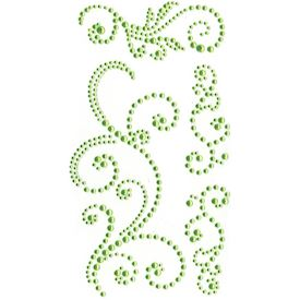 Jewel Swirls, Green