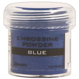 Embossing, Blue