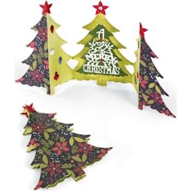Christmas Tree Fold-A-Long Card