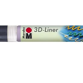 3D Liner , Lila pastell