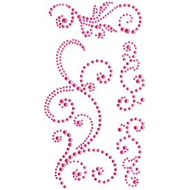 Jewel Swirls, Pink