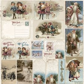 Vintage Frost Basics - Christmas diecuts