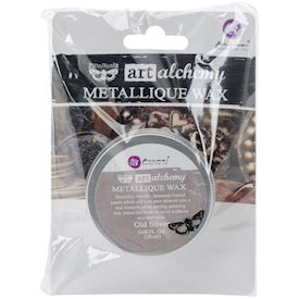Metallique Wax, Old Silver