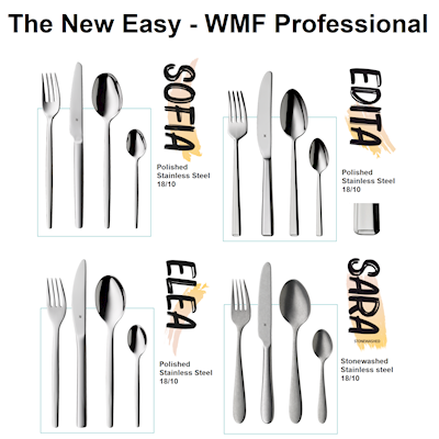 Bestick Enia Stainless Steel 18/10  WMF Professional The New Easy