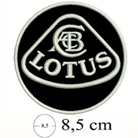 Lotus patch Black
